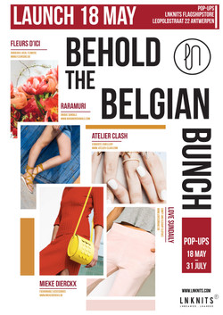 Poster Behold the Belgian Bunch