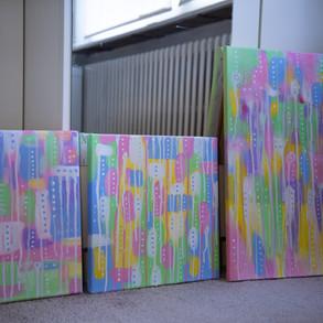 Pastel Summer Series &, 2&3