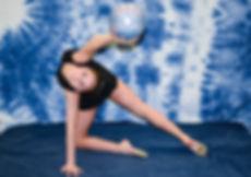 Rhythmic gymnastis shoot