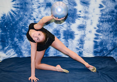 Rhythmic gymnastis shoot