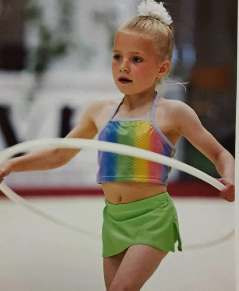 Small me as a gymnast
