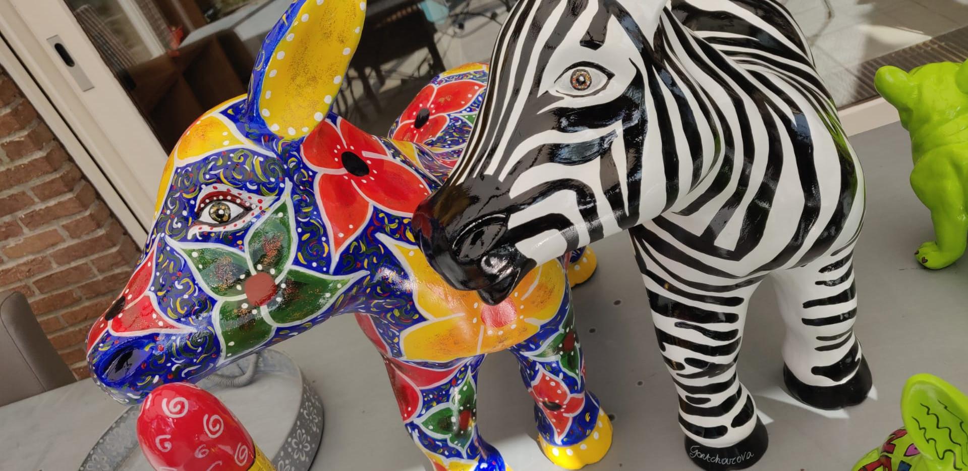 """""""Zebra Donkey"""" and """"Algarve"""""""