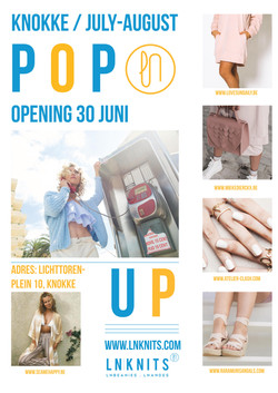 Knokke pop-up promotion