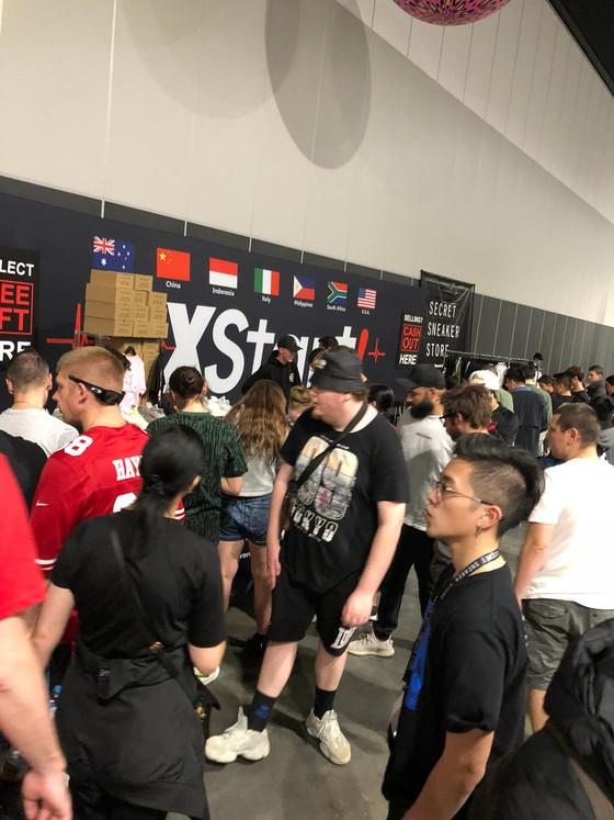 KXStart! Global at Sneakercon Sydney 2019
