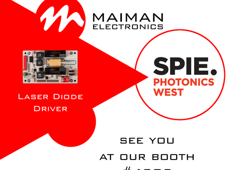 Invitation for the SPIE Photonics West 2019 in San Francisco, USA