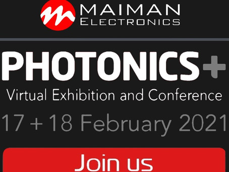 Join us at PHOTONICS-PLUS Exhibition and Conference!