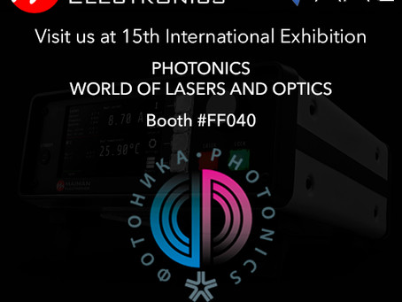 Photonics 2021, Moscow, Russia from 30 March to 2 april 2021.