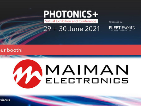 Join us at PHOTONICS-PLUS Exhibition and Conference 29-30 June