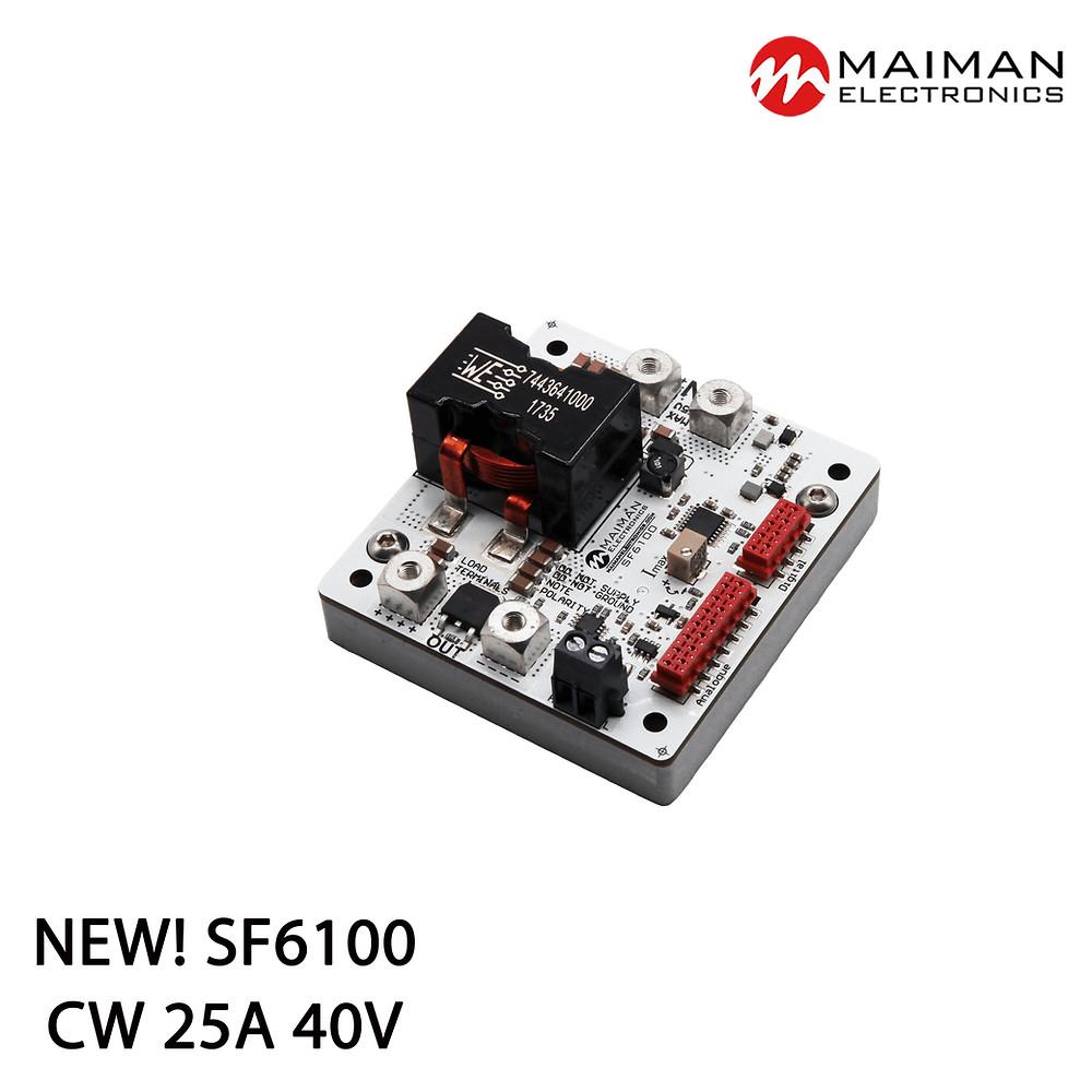 OEM CW High Voltage Laser Diode Driver SF6100 (25A 40V)