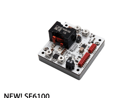 Great Update for the Laser Diode Driver SF6100 (25A 40V)