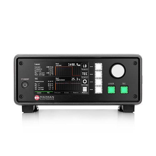 Benchtop Laser Diode/TEC Controller MBL1500B v0.0.1