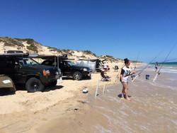Preston Beach Camping