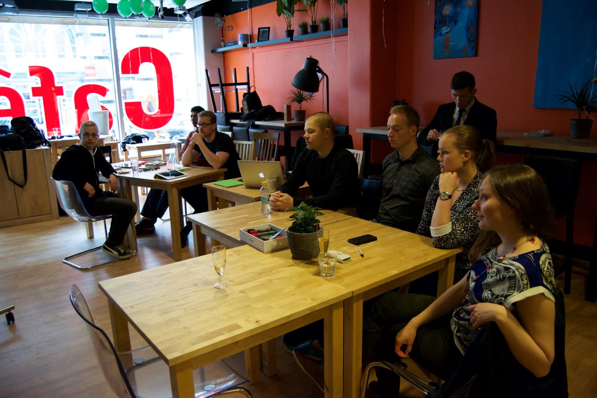 Innovation Café, Kajaani, 17.06.2016