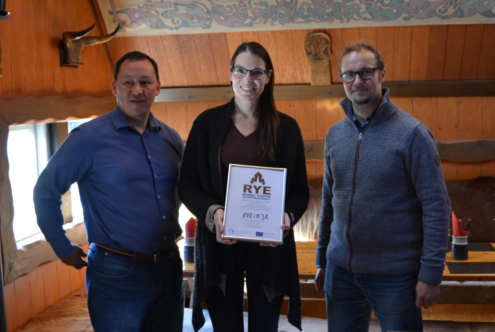 Delivering RYE Charter to Kveikja
