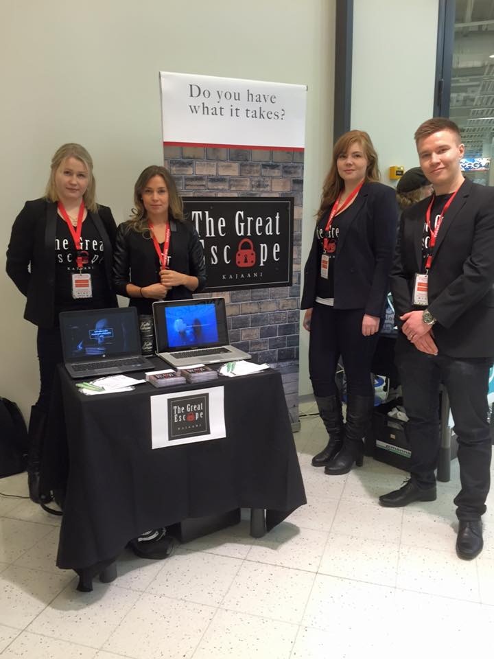 Young Entrepreneurs, The Great Escape from Kajaani