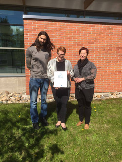 Delivering the RYE Charter to Business Kitchen Oulu