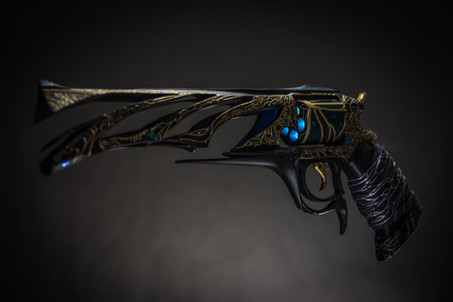 Malfeasance Hand cannon fron 3/4 view