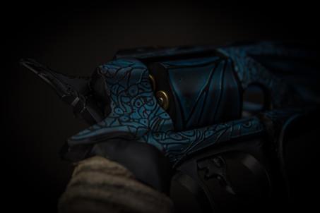 Detail shot of Malfeasance Hand Cannon