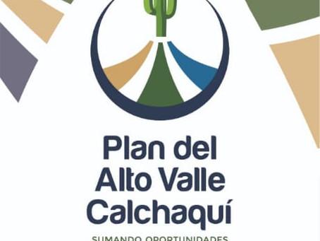 Plan Alto Valle Calchaquí, sumando oportunidades para el desarrollo local.