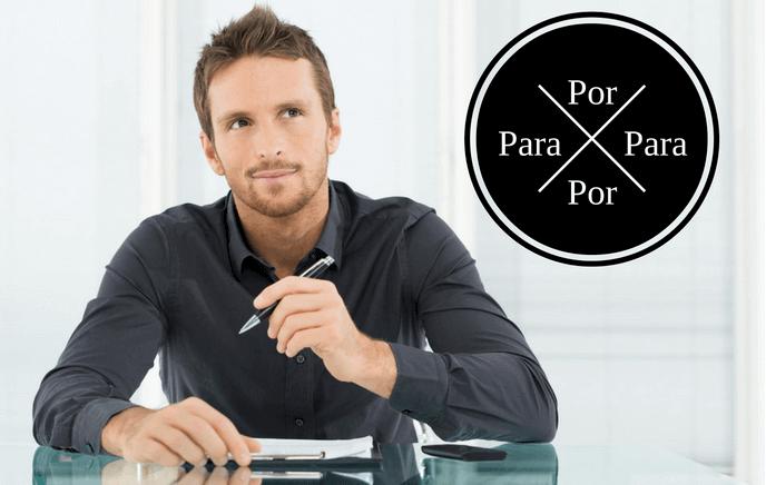 Spanish prepositions por and para