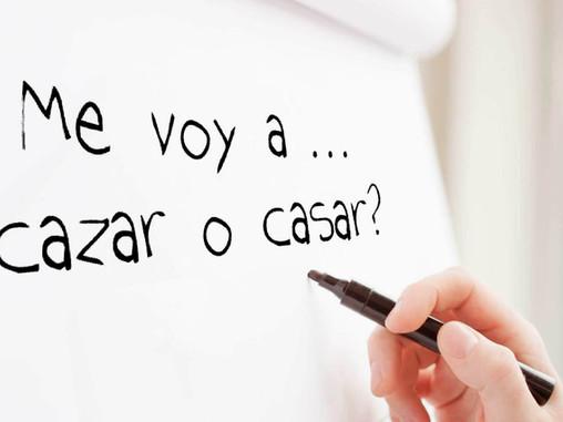 HOMONYMS: Homophones in Spanish