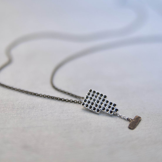 Fatima Silver Necklace