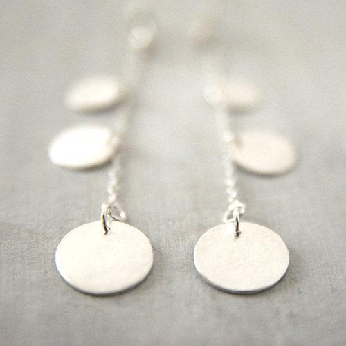 Flouri Sta Tria Silver Earring - 64€/ζευγάρι