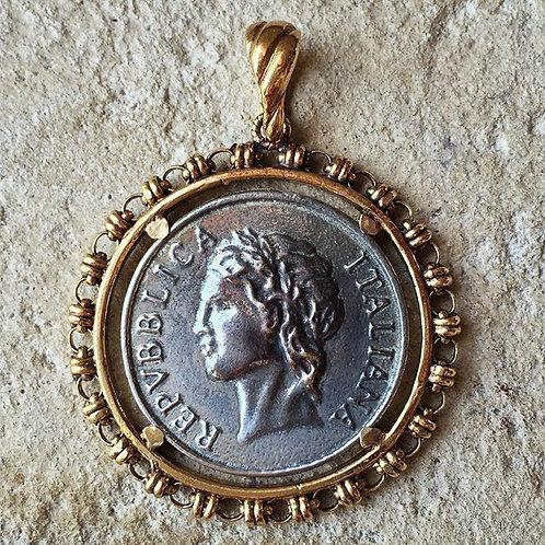 100 Lira Coin Pendant (29 mm diameter)