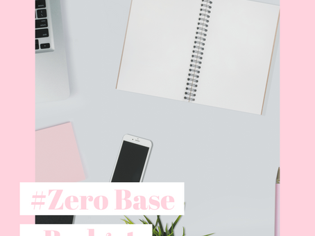 What is #Zero based budgeting?