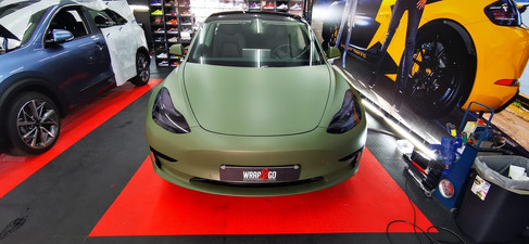 Tesla Model 3 Stek Koplamp folie tint ma