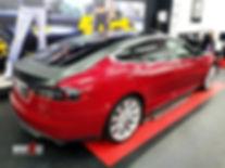 Carwrap Tesla Model S Carbon 3M