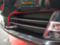 Carwrap Tesla Model S No chrome