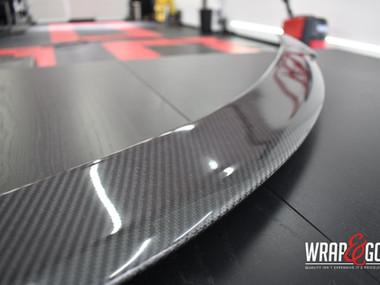 Tesla Model S Wing Carbon Spoiler