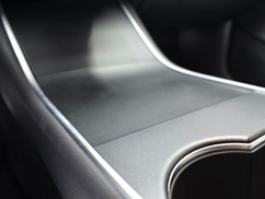 Tesla Model S Mat Zwart Middenconsole wrap