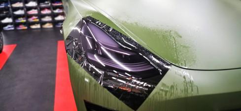 Tesla Model 3 Stek Koplamp folie tint