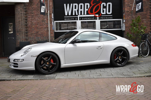 Porsche 911 Car Wrap Gloss Storm Grey