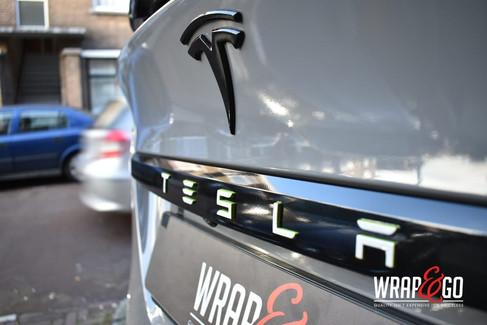 Tesla Model X Nardo Grey Car Wrap