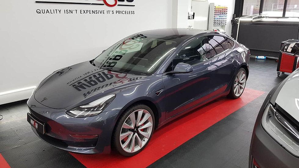 Tesla-model3-chrome-delete