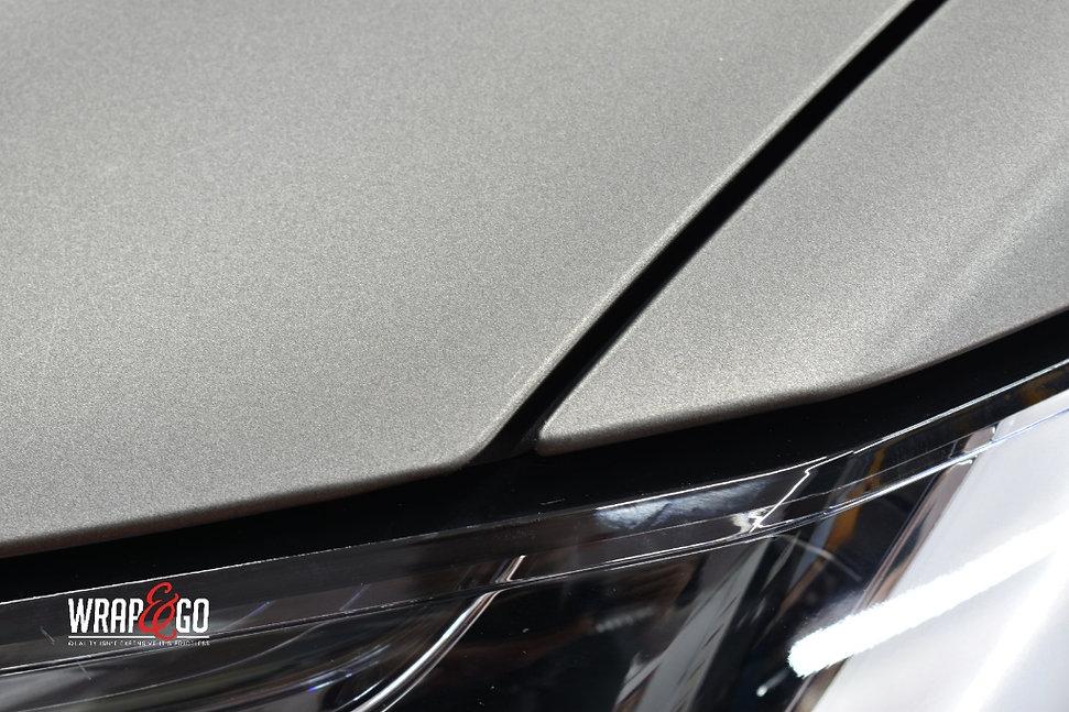 Tesla Model X Carwrap 3M Matte Dark Grey