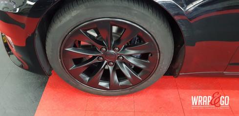 Tesla Model S Velgen spuiten Alloygator