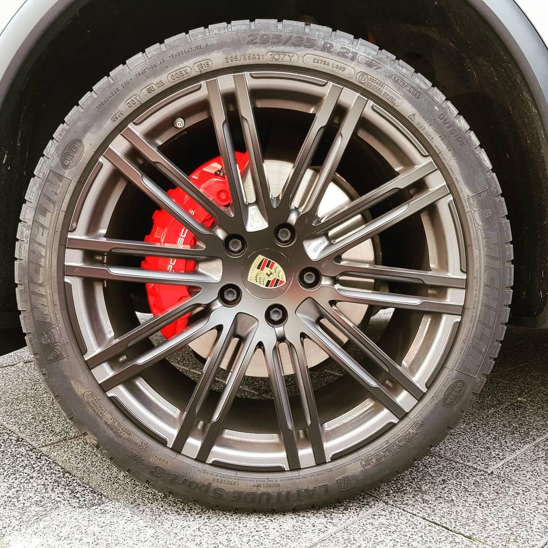 Remklauwen Spuiten Porsche