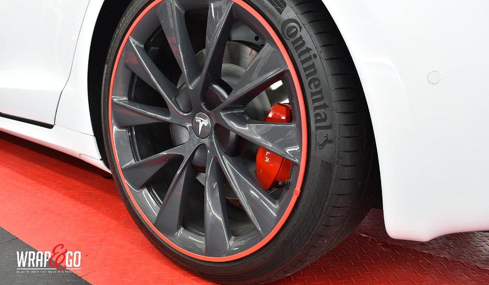 Tesla S Rood Rimsavers