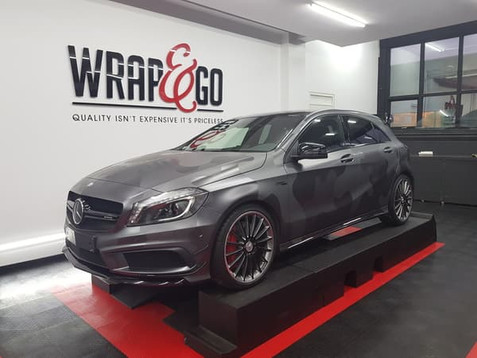 Mercedes Camouflage Carwrap