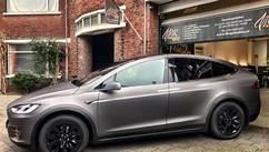 Tesla Model X Carwrap Matte Dark Grey