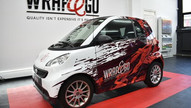 Smart ForTwo Design Carwrap