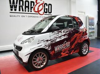 Smart ForTwo Design Carwrap