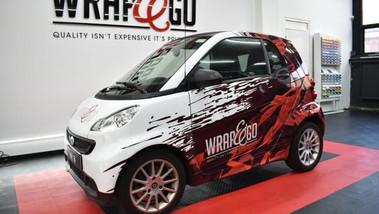 Smart ForTwo Design Car wrap