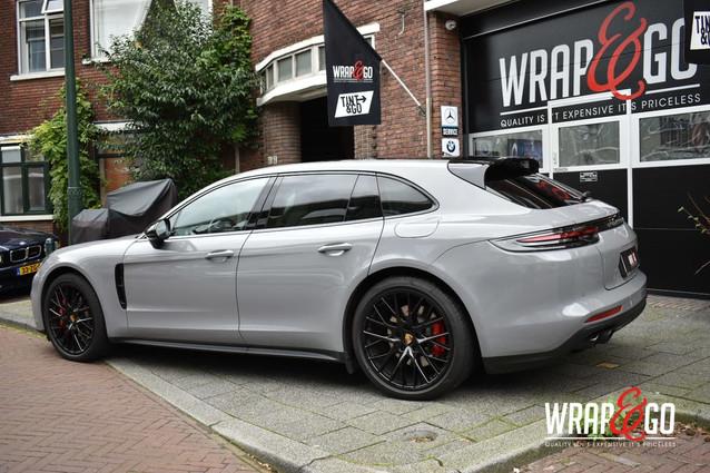 Porsche Panamera Nardo Grey Car Wrap