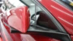 Tesla Model S Carwrap Satin Black Mirror