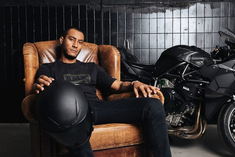 Kawasaki H2R BALR. Edition Sunnery James
